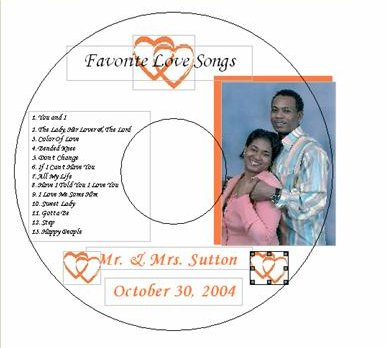 Wedding CD's